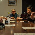 Le funne (donne in dialetto trentino) discutono del progetto