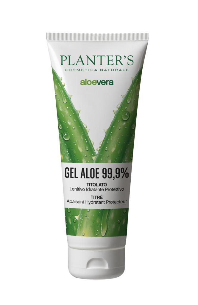 Planter's - Gel corpo con Aloe  Vera pura al 99,9%
