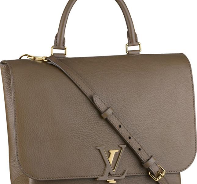 Louis Vuitton Volta Taurillon color kaki