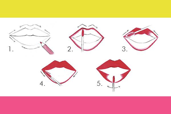 Tutorial per la stesura della tinta labbra I'M