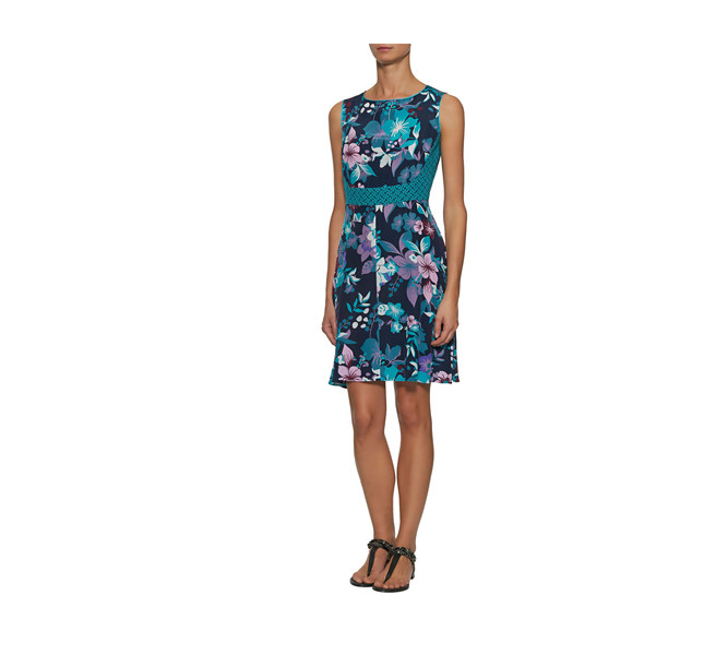Pennyblack abito con motivi floreali e cintura in vita