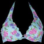 Tezuk bikini top bocciolo turchese