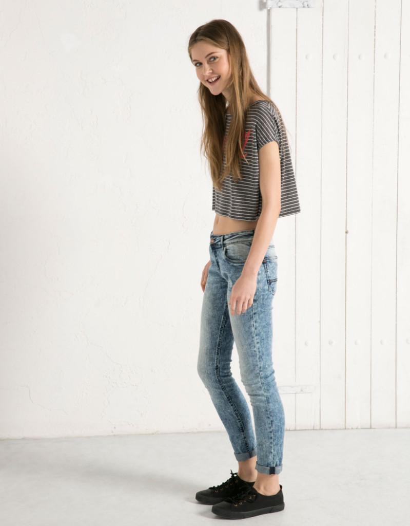 Berska_Jeans con t-shirt