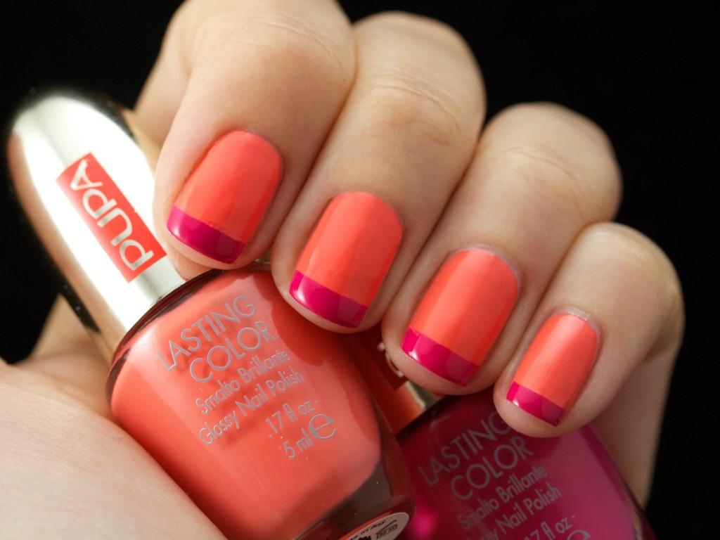 CORAL ISLAND LASTING COLOR FRENCH KIT 002 Tropical Juice