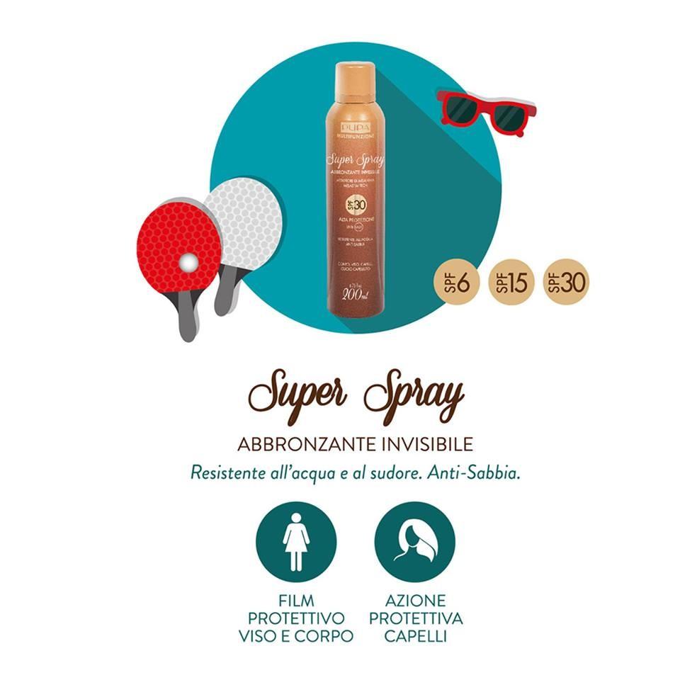 solare multifunzione Pupa Super Spray