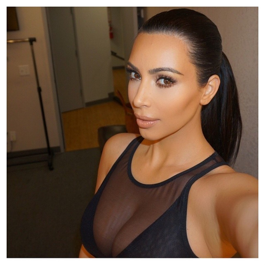 Contouring di Kim Kardashian