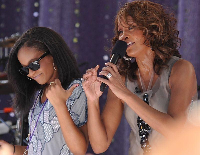 Whitney e Bobbi Kristina