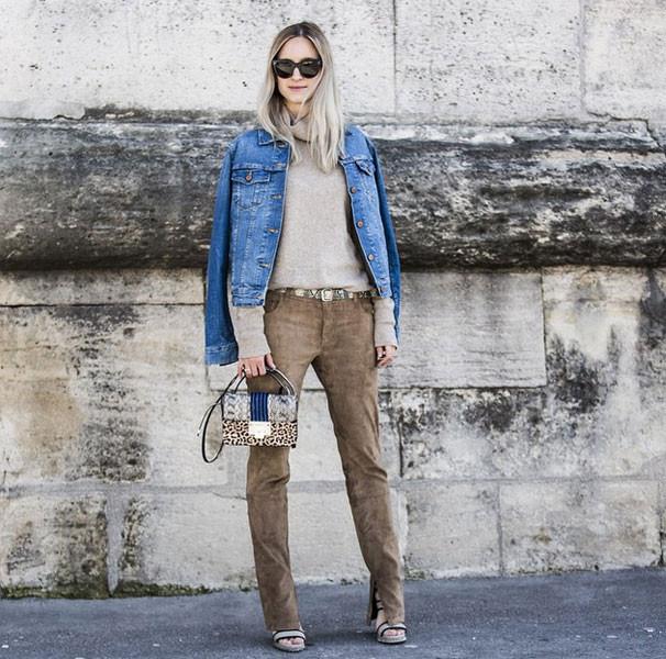 10 modi per indossare il giubbotto di jeans