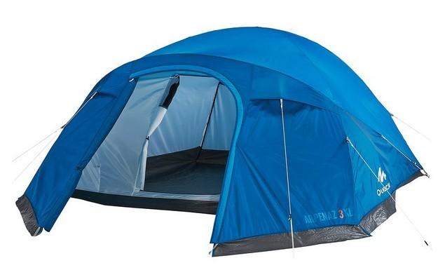 tenda da campeggio Arpenez con Camera Grande.