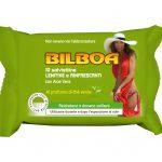 Bilboa Salviette lenitive e rinfrescanti con aloe vera al profumo di tè verde