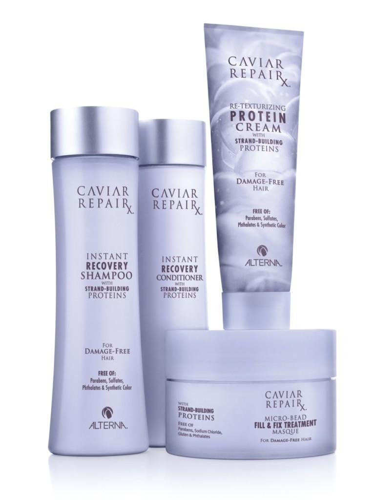 Riparazione Capelli Danneggiati: Caviar RepairX Capelli