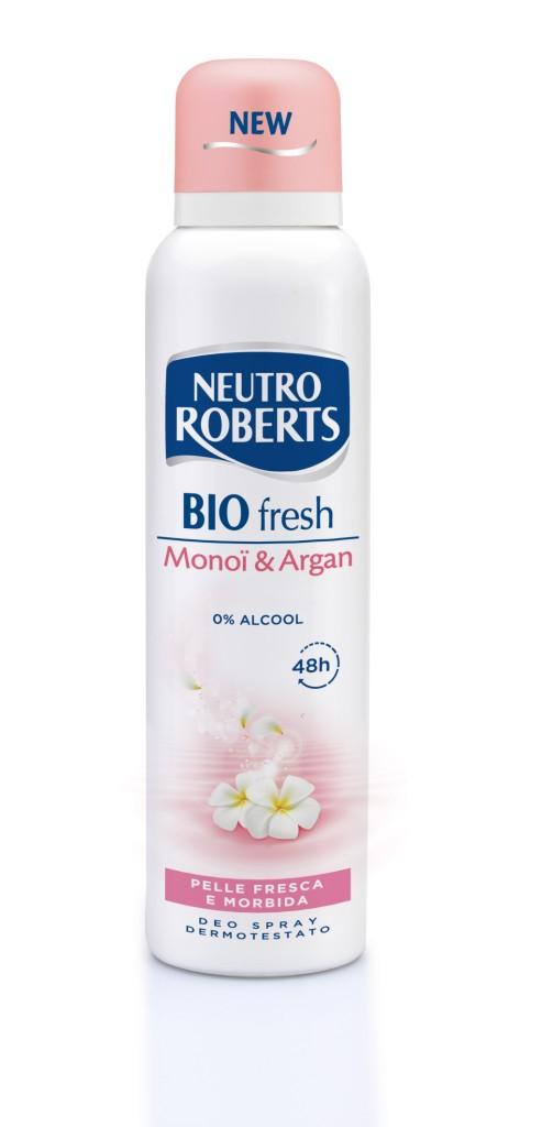 Neutro Roberts - Linea Bio Fresch Monoi e Argan