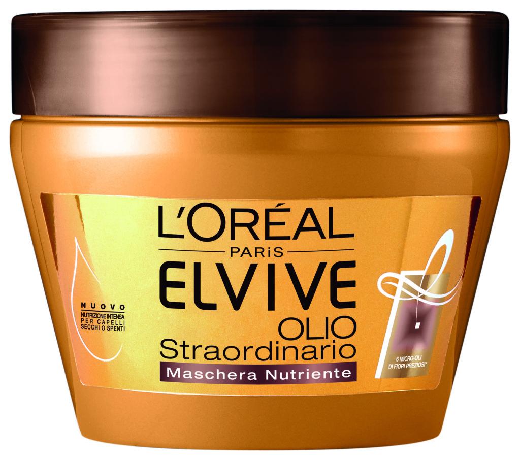 Elvive Olio Straordinario Olio in crema  capelli secchi