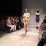 Gli abito nascono dalla collaborazione tra Klopman International e gli allievi dei corsi di Fashion Design dell'Accademia Italian di Arte-Moda-Design