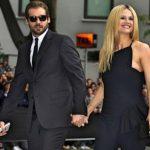 Michelle Hunziker con Tomaso Trussardi