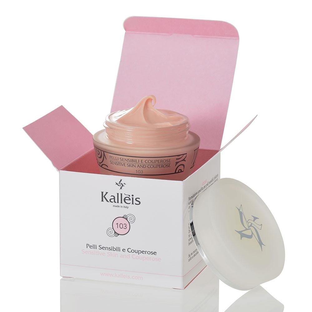 Kallèis 103 è una crema leggera e nutriente