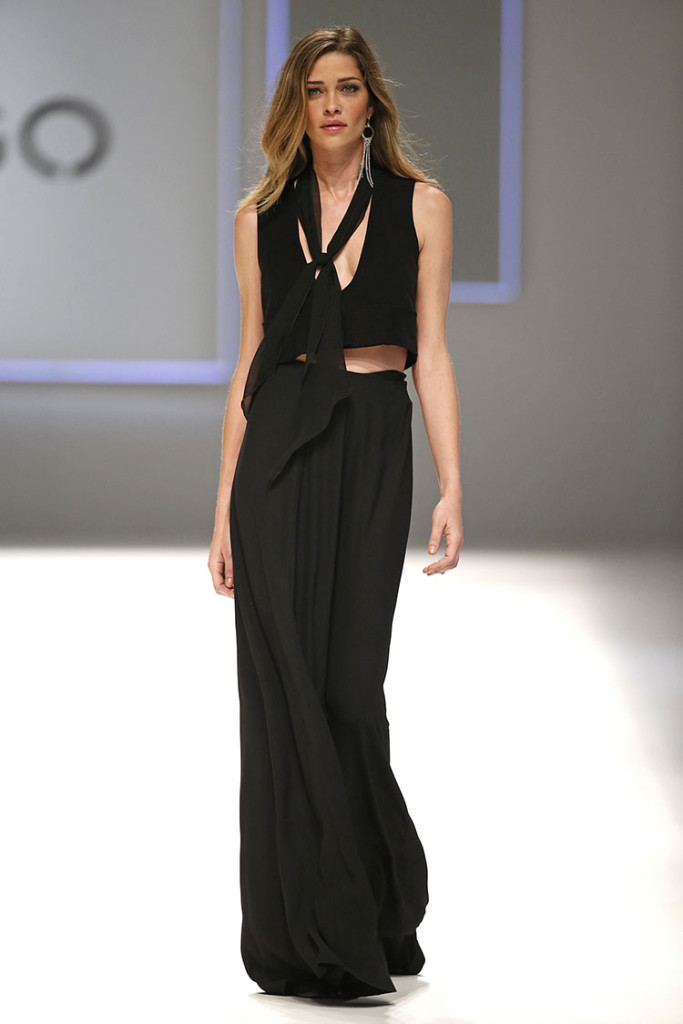 Look total black by Mango AI 2015-2016