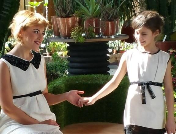 Gieffe atelier due abiti colore bianco