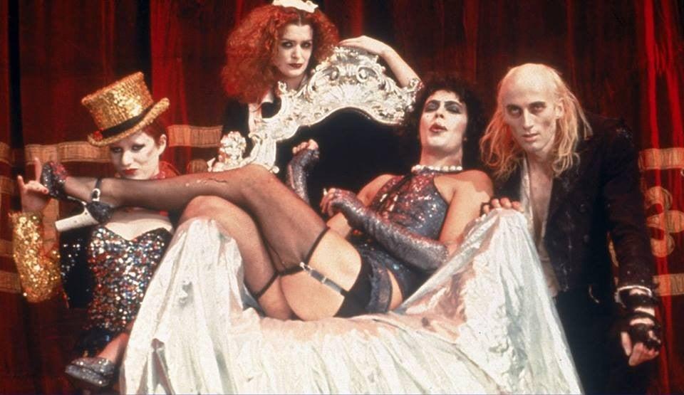 Il cast di The Rocky Horror Picture Show