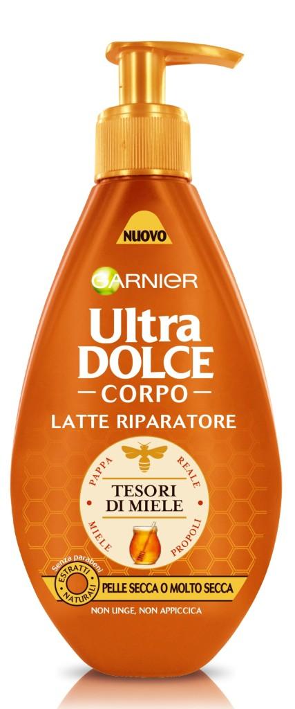Garnier - Ultra Dolce Corpo Tesori di Miele  Latte idratante