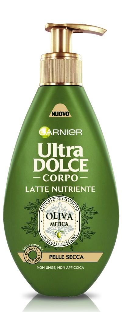 Garnier - Ultra Dolce Corpo Oliva Mitica Latte idratante
