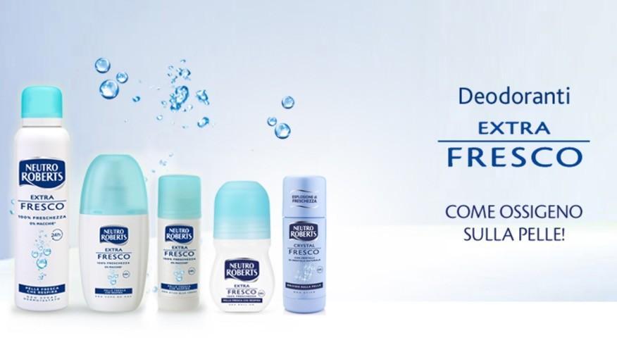 Neutro Roberts - Linea deodoranti extra fresco