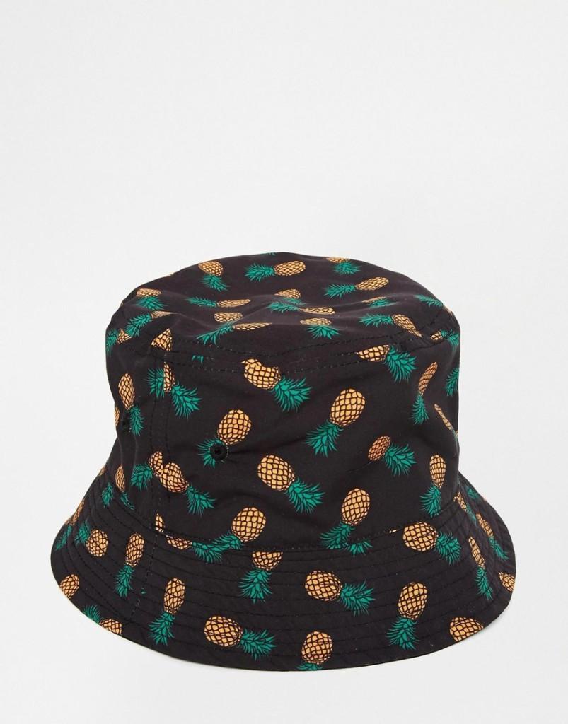 Bucket Hat, si tratta di un cappello da pioggia rivisitato e realizzato con tessuti traspiranti_Asos