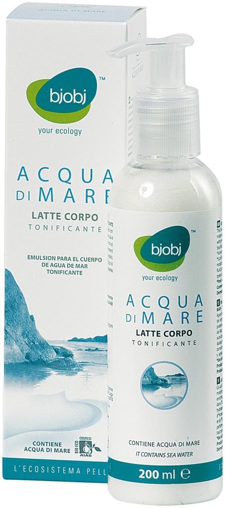 Bjobj Acqua Di Mare - Latte Corpo Tonificante