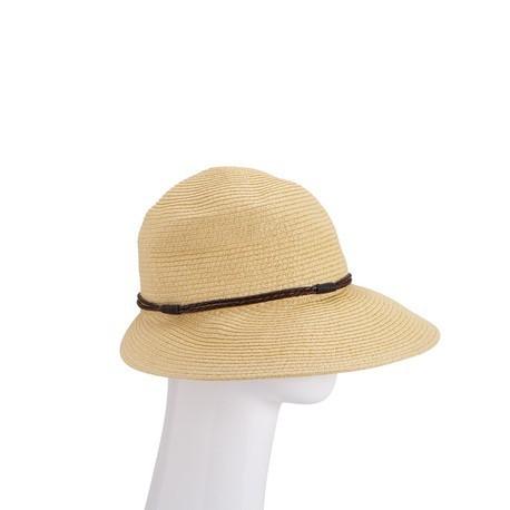 Elegante e sofisticato il cappello in paglia firmato Carpisa è perfetto per le calde giornate estive