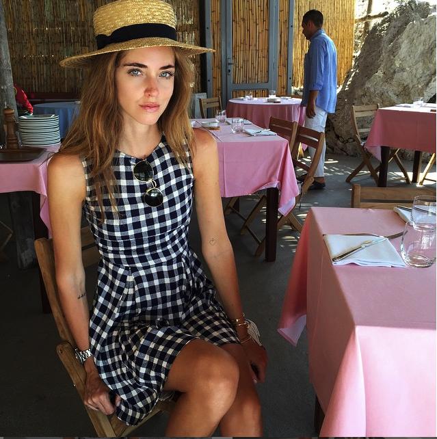 Chiara Ferragni_ Make up naturale e fresco