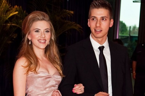 Scarlett Johansson e il suo fratello gemello
