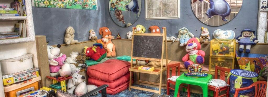 Hotel Giovanna Regina a Gabicce Mare con spazio giochi per bambini e servizio baby sitter
