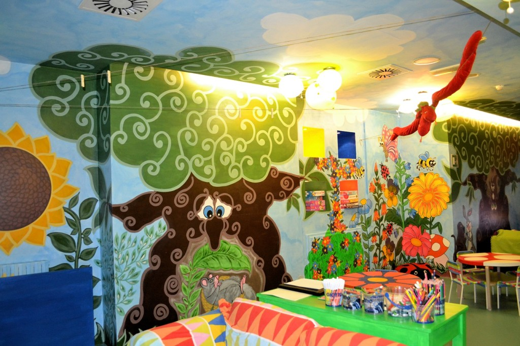 Hotel hotel Roseo Sestriere con area per bimbi