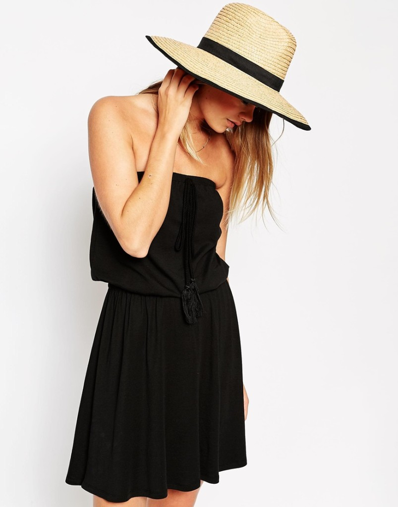Cappello in paglia oversize_Asos
