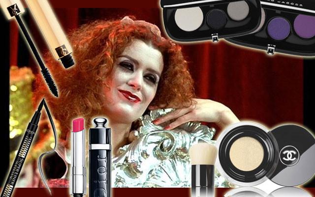 I prodotti per realizzare un make up ispirato a Magenta di The Rocky Horror Picture Show