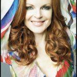 Il rosso è stato da sempre il tratto distintivo della famosa attrice Marcia Cross.