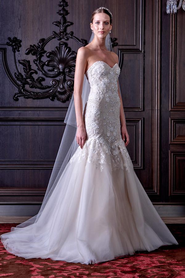 abiti sposa EDEN con dettagli in cristallo dal tema floreale
