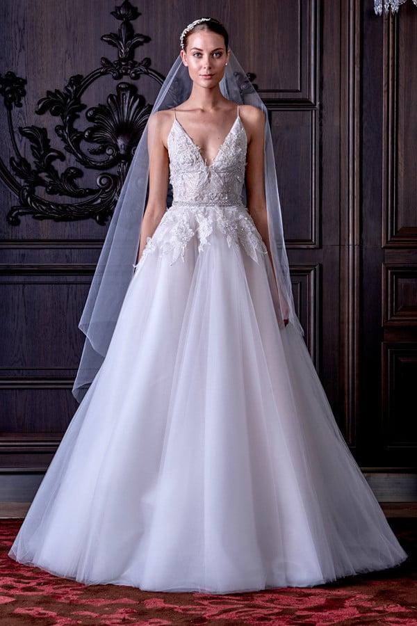 abiti sposa Ella dalle tonalità del bianco