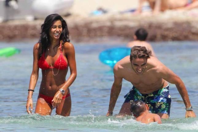 Federica Nargi e Matri in vacanza a Formentera