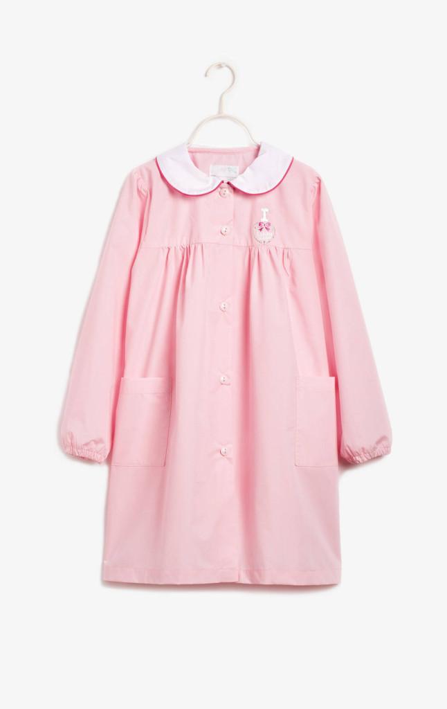 grembiulino colore rosa con colletto per bambina OVS