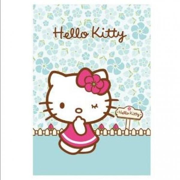 Hello kitty maxi quaderno azzurro