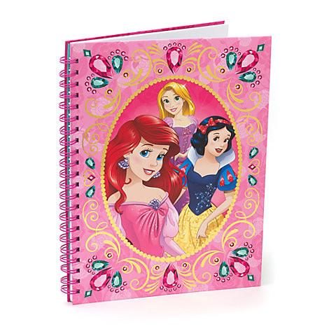 Quaderno Disney con tutte le principesse