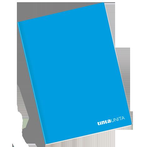 Quaderno TintaUnita azzurro varie colorazioni