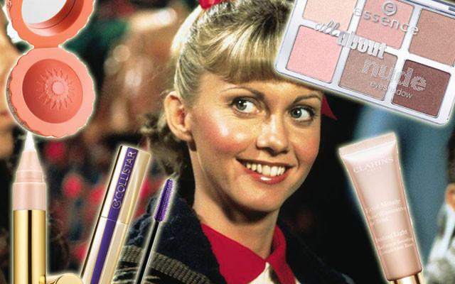 I prodotti per realizzare un make up ispirato a Sandy di Grease