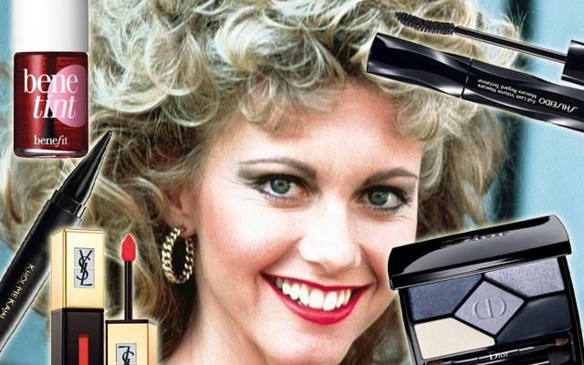 I prodotti per realizzare un make up ispirato a Sandy nel finale di Grease