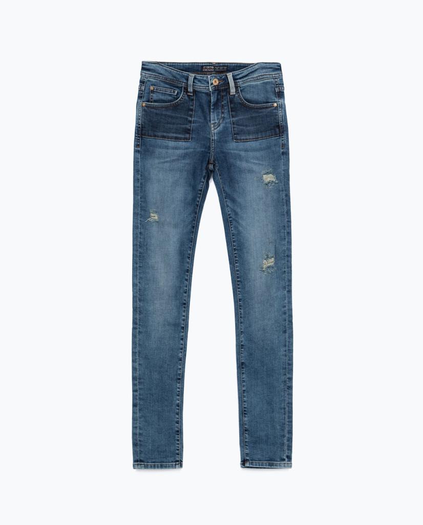 ZARA_Jeans modello skinny