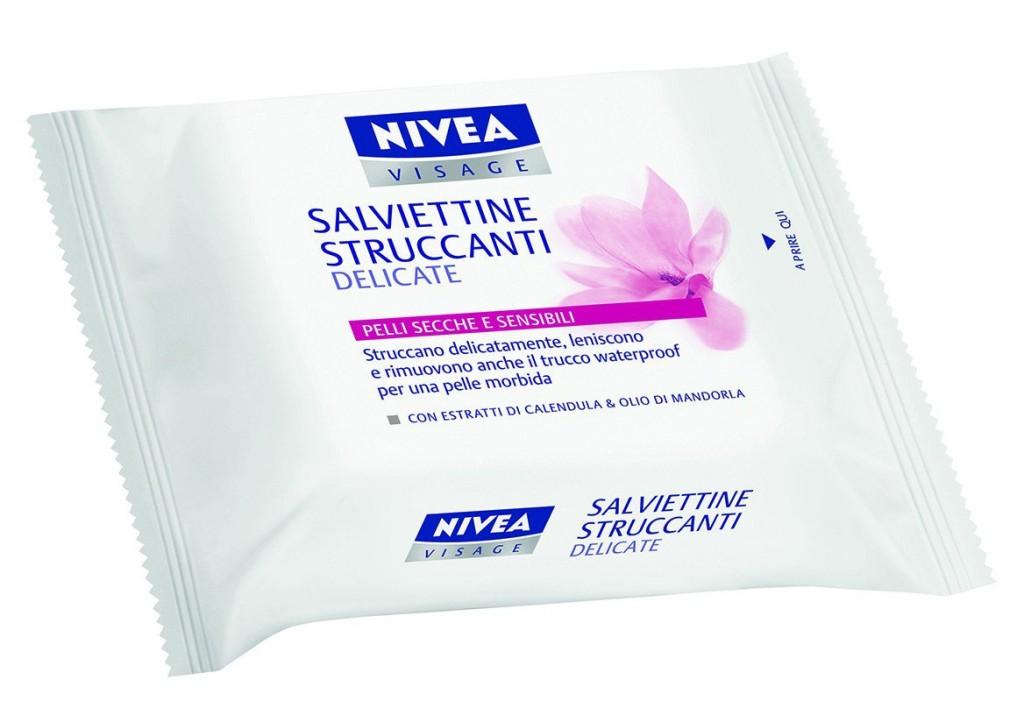 Nivea Salviettine Struccanti Delicate