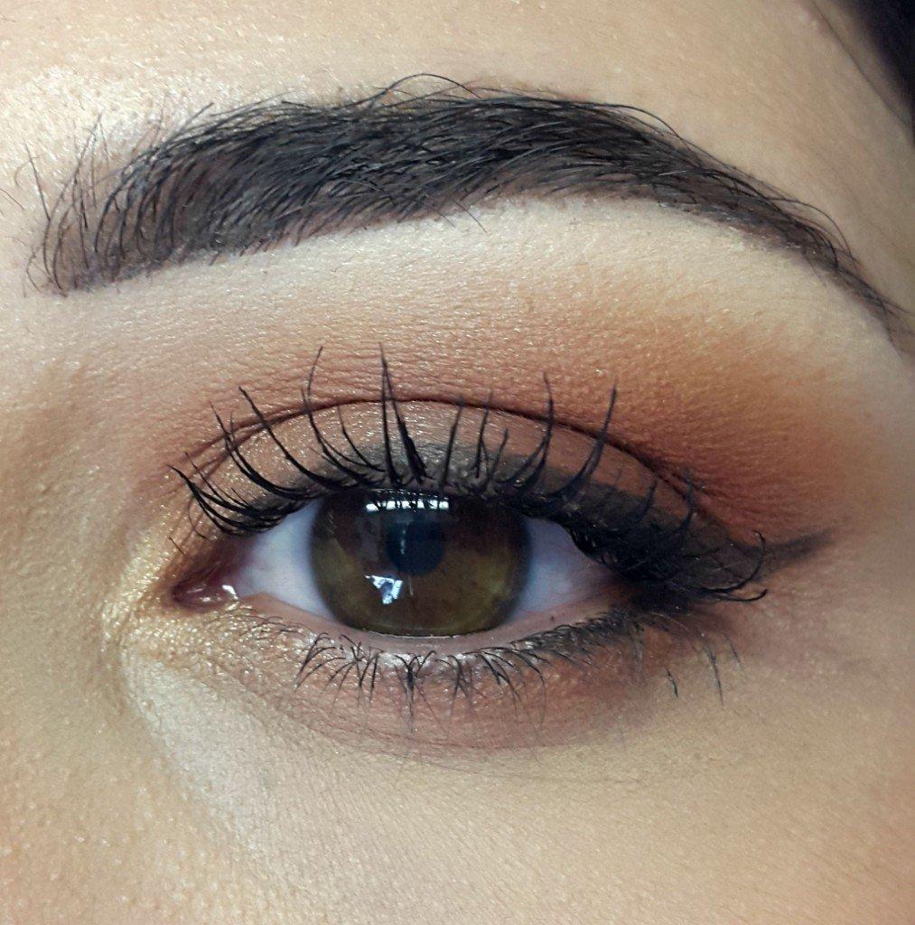 5. il makeup occhi completo