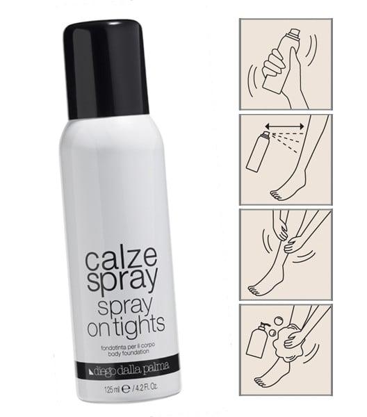 Diego dalla Palma Calze Spray - metodo di applicazione