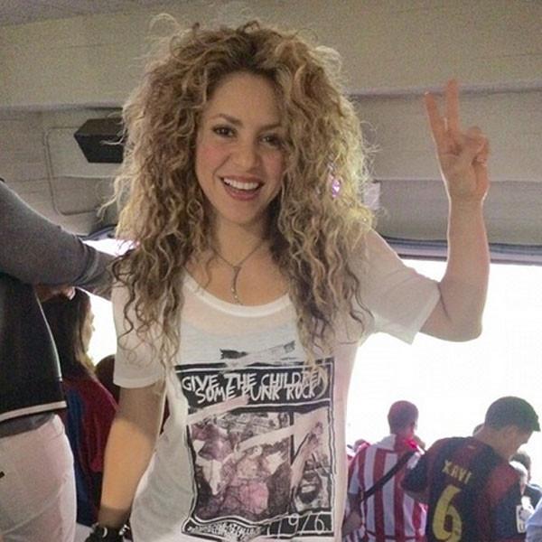 Shakira e il suo incantevole sorriso